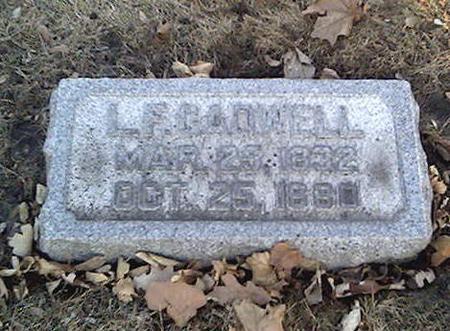 CADWELL, L.F. - Cerro Gordo County, Iowa | L.F. CADWELL