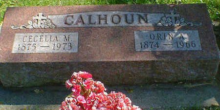 CALHOUN, CECELIA M. - Cerro Gordo County, Iowa | CECELIA M. CALHOUN