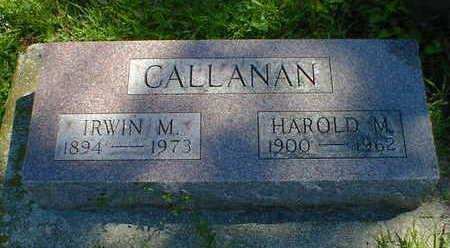 CALLANAN, IRWIN M. - Cerro Gordo County, Iowa | IRWIN M. CALLANAN