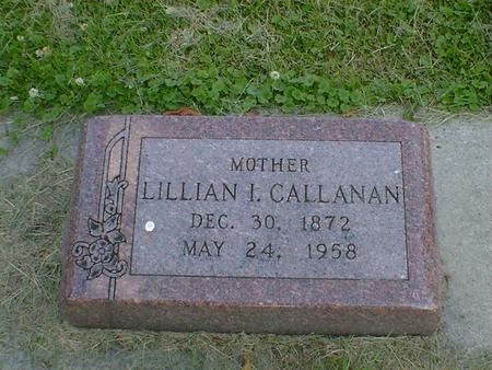 CALLANAN, LILLIAN I. - Cerro Gordo County, Iowa | LILLIAN I. CALLANAN