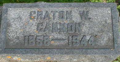 CANNON, CRATON W. - Cerro Gordo County, Iowa | CRATON W. CANNON