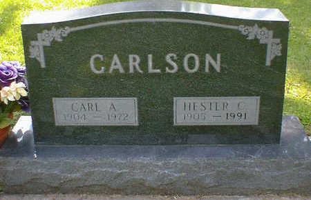 CARLSON, HESTER C. - Cerro Gordo County, Iowa | HESTER C. CARLSON