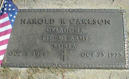CARLSON, HAROLD R. - Cerro Gordo County, Iowa | HAROLD R. CARLSON