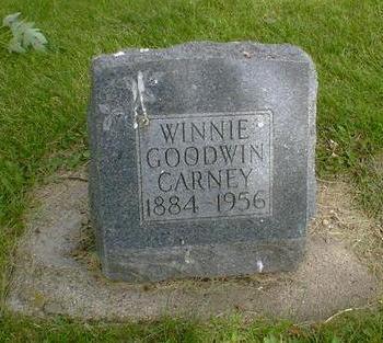 GOODWIN CARNEY, WINNIE - Cerro Gordo County, Iowa | WINNIE GOODWIN CARNEY