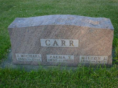 CARR, J. MICHAEL - Cerro Gordo County, Iowa | J. MICHAEL CARR