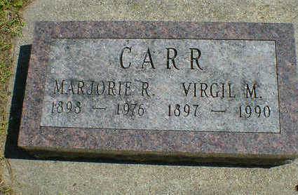CARR, VIRGIL M. - Cerro Gordo County, Iowa | VIRGIL M. CARR