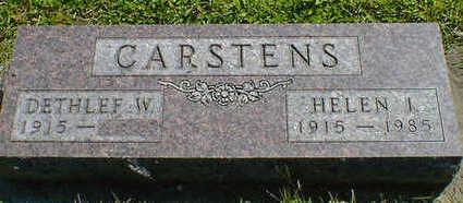 CARSTENS, HELEN I. - Cerro Gordo County, Iowa | HELEN I. CARSTENS