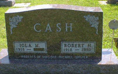 CASH, ROBERT H. - Cerro Gordo County, Iowa | ROBERT H. CASH