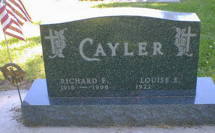 CAYLER, RICHARD F. - Cerro Gordo County, Iowa | RICHARD F. CAYLER