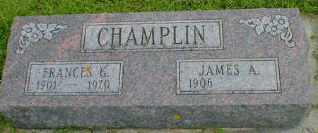 CHAMPLIN, FRANCES G. - Cerro Gordo County, Iowa | FRANCES G. CHAMPLIN