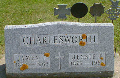 CHARLESWORTH, JAMES T. - Cerro Gordo County, Iowa | JAMES T. CHARLESWORTH