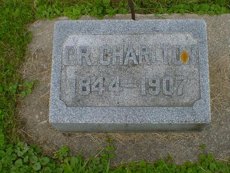 CHARLTON, DR. - Cerro Gordo County, Iowa | DR. CHARLTON