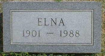 CHRISTENSEN, ELNA - Cerro Gordo County, Iowa   ELNA CHRISTENSEN