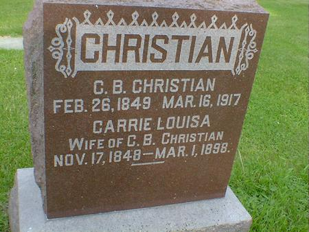 CHRISTIAN, C. B. - Cerro Gordo County, Iowa | C. B. CHRISTIAN