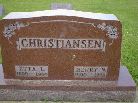 CHRISTIANSEN, HENRY N. - Cerro Gordo County, Iowa | HENRY N. CHRISTIANSEN