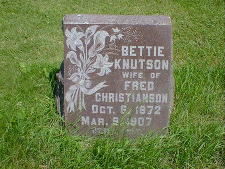 KNUTSON CHRISTIANSON, BETTIE - Cerro Gordo County, Iowa | BETTIE KNUTSON CHRISTIANSON