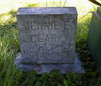 CLARK, JENNIE E. - Cerro Gordo County, Iowa | JENNIE E. CLARK