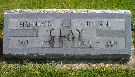 CLAY, JOHN H. - Cerro Gordo County, Iowa | JOHN H. CLAY