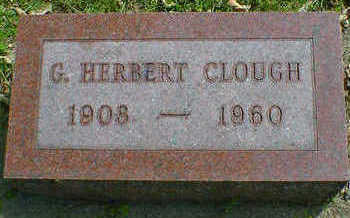 CLOUGH, G. HERBERT - Cerro Gordo County, Iowa | G. HERBERT CLOUGH