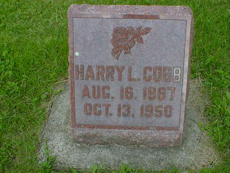 COBB, HARRY L. - Cerro Gordo County, Iowa | HARRY L. COBB