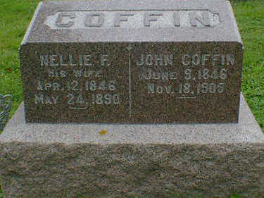 COFFIN, JOHN - Cerro Gordo County, Iowa | JOHN COFFIN