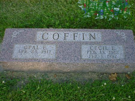 COFFIN, CECIL E. - Cerro Gordo County, Iowa | CECIL E. COFFIN