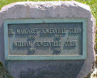 SOMERVILLE COLBY, MARGARET - Cerro Gordo County, Iowa | MARGARET SOMERVILLE COLBY