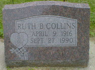 COLLINS, RUTH B. - Cerro Gordo County, Iowa | RUTH B. COLLINS