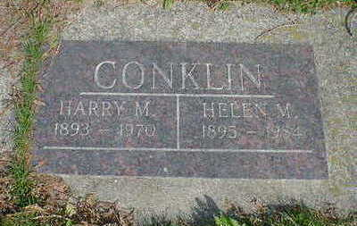 CONKLIN, HARRY M. - Cerro Gordo County, Iowa | HARRY M. CONKLIN
