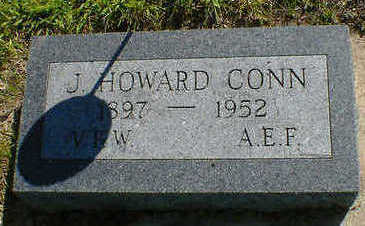 CONN, J. HOWARD - Cerro Gordo County, Iowa | J. HOWARD CONN