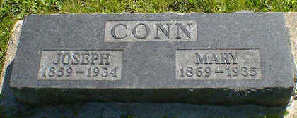 CONN, JOSEPH - Cerro Gordo County, Iowa | JOSEPH CONN
