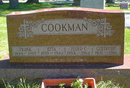 COOKMAN, ETTA - Cerro Gordo County, Iowa | ETTA COOKMAN