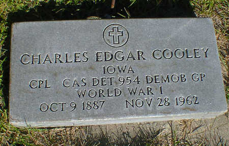 COOLEY, CHARLES EDGAR - Cerro Gordo County, Iowa | CHARLES EDGAR COOLEY