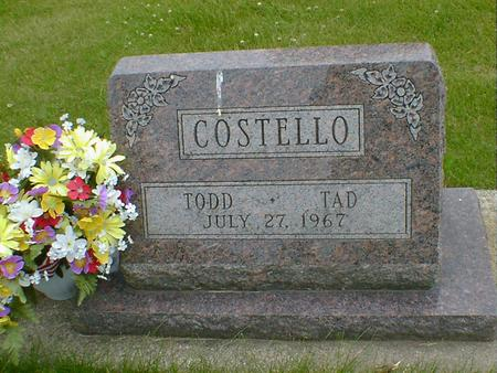COSTELLO, TAD - Cerro Gordo County, Iowa | TAD COSTELLO