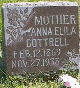 COTTRELL, ANNA ELILA - Cerro Gordo County, Iowa | ANNA ELILA COTTRELL