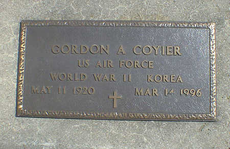COYIER, GORDON A. - Cerro Gordo County, Iowa | GORDON A. COYIER