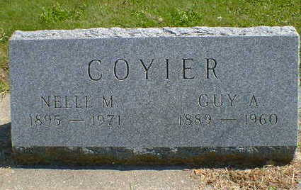 COYIER, GUY A. - Cerro Gordo County, Iowa | GUY A. COYIER