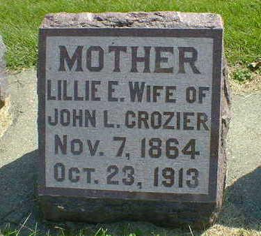 CROZIER, LILLIE E. - Cerro Gordo County, Iowa | LILLIE E. CROZIER
