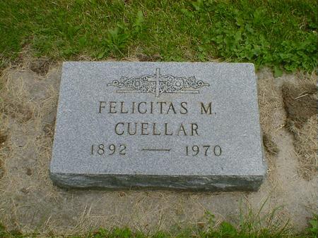 CUELLAR, FELICITAS M. - Cerro Gordo County, Iowa | FELICITAS M. CUELLAR