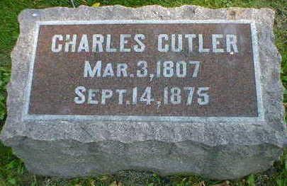 CUTLER, CHARLES - Cerro Gordo County, Iowa | CHARLES CUTLER