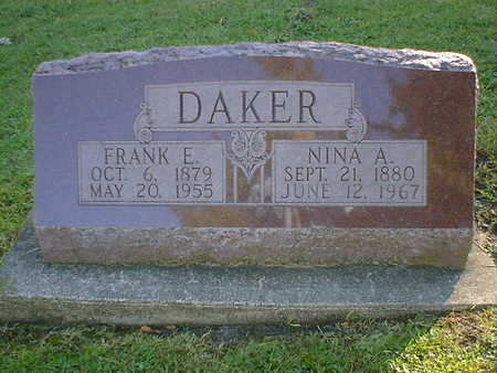 DAKER, NINA A. - Cerro Gordo County, Iowa | NINA A. DAKER