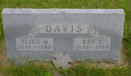 DAVIS, RAY G. - Cerro Gordo County, Iowa | RAY G. DAVIS