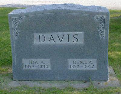 DAVIS, BENJ. A. - Cerro Gordo County, Iowa | BENJ. A. DAVIS