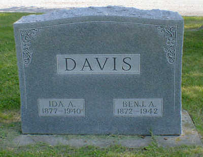 DAVIS, IDA A. - Cerro Gordo County, Iowa | IDA A. DAVIS