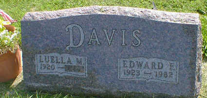DAVIS, EDWARD F. - Cerro Gordo County, Iowa | EDWARD F. DAVIS