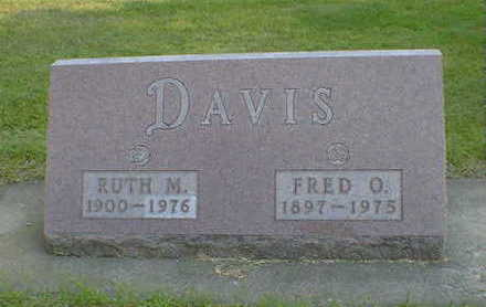 DAVIS, RUTH M. - Cerro Gordo County, Iowa | RUTH M. DAVIS