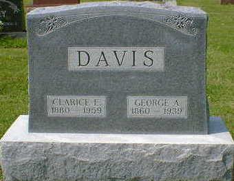 DAVIS, GEORGE A. - Cerro Gordo County, Iowa | GEORGE A. DAVIS