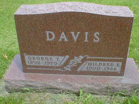 DAVIS, MILDRED E. - Cerro Gordo County, Iowa | MILDRED E. DAVIS