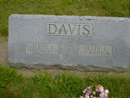 DAVIS, GETTIE E. - Cerro Gordo County, Iowa | GETTIE E. DAVIS