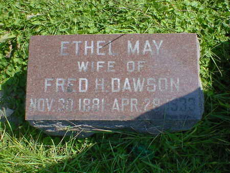 DAWSON, ETHEL MAY - Cerro Gordo County, Iowa | ETHEL MAY DAWSON